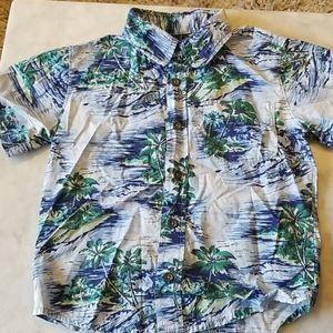 Old Navy Hawaiian Print Shirt